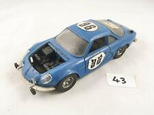 BBURAGO MARTOYS # 0101 1/24 SCALE RENAULT ALPINE A110 MONTECARLO RALLY CAR 96