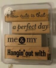 Stampin Up Phrase Starters II (Retired)