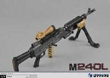 "12"" Action Figure Weapon Model 1/6 M240B 7.62mm Machine Gun Rifle ZY TOYS ZY16-9"