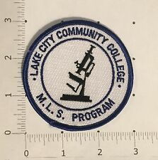 Lake City Community College MLS Program Patch