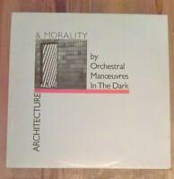 Orchestral Manoeuvres In The Dark – Architecture & Morality Vinyl LP Album Grey