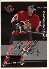 CHRIS PHILLIPS IN THE GAME ITG FINAL VAULT ON CARD AUTO