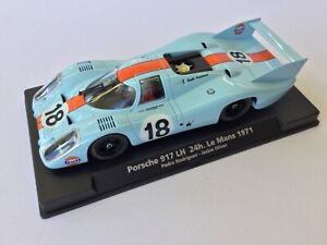 Fly GULF PORSCHE 917LH MIB rare HTF Rodriguez / Oliver 1971 Le Mans free post