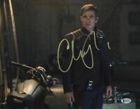 CHRIS PINE STAR TREK SIGNED 11X14 PHOTO AUTHENTIC AUTOGRAPH BECKETT COA