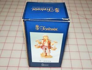 Fontanini Noah With Water Bucket Figurine (52562) New in Box
