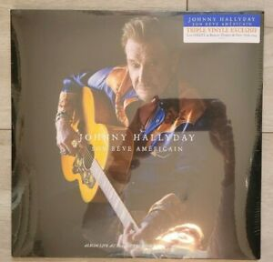 Johnny Hallyday - Live au Beacon Theatre de New-York 2014 (Triple LP)