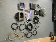 Lowrance Hds-7 and Hds-5. With structure scan and two transducer used