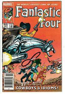 Fantastic Four 272 (Marvel, Nov. 1984) 1st Cameo Nathaniel Richards Newsstand GD