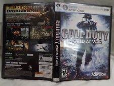 Call of Duty: World at War  (PC, 2008) Complete game, fast shipping