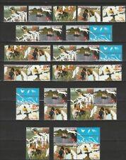 Nederland Stockkaart Zegels en Combinaties uit Postzegelboekjes 64 Postfris