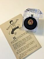Nabisco Shredded Wheat Compass Premium Ring c 1950s with Mailer