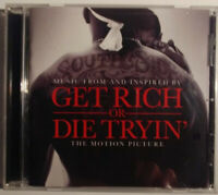 GET RICH OR DIE TRYIN - CD - DISK GOOD