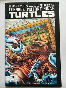 Teenage Mutant Ninja Turtles #3 Vol 1 1988 NM-