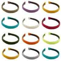 Damen Breites Haarband Süßigkeiten Farbe Bandana Yoga Haarreif Wolle Stirnband