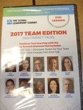 The Global Leadership Summit 2017 Team Edition High Impact Talks DVD Version