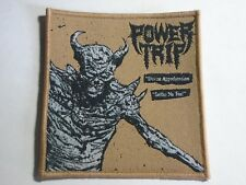 POWER TRIP DIVINE APPREHENSION WOVEN PATCH