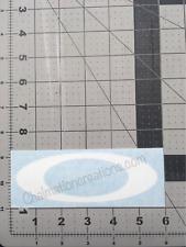 New Oakley Ellipse Vinyl Decal Rub On Die Cut Sticker