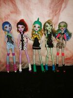 "Monster High🕸️""Skultimate Roller Maze""-Operetta,Frankie, Abbey,Ghoulia,Lagoona-"
