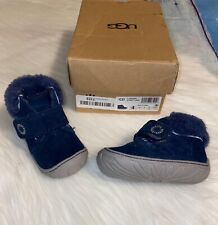 Ugg infant/toddler Navy Blue Boots shoes size 4