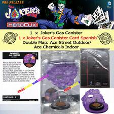 DC COMICS HEROCLIX JOKER'S WILD OP KIT SPANISH CARD DOUBLE MAP - Gas Canister