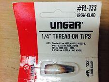 """1/4"""" THREAD-ON TIPS  IRON CLAD UNGAR #PL-133 (NN0621-11)"""