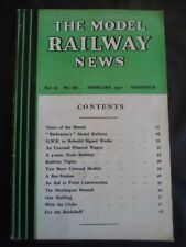 Model Railway News - February 1947