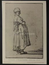 Drawings by Rembrandt A WOMAN STANDING c1635 British Museum