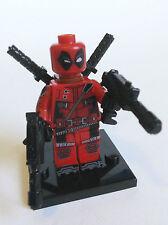 Deadpool Minifigure 2 - new in bag - Lego compatible figure figurine