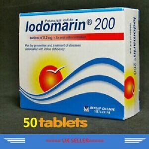 Potassium iodide (200 mcg 50 tab) ( iodine, Iodomarin, йодомарин)