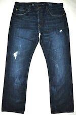 "Levi's Capital E Matchstick Slim Straight Fctry Dstrssd Jeans Actual: W35"" L30"""
