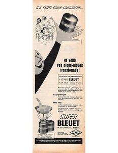 Publicité Advertising 1959 - SUPER BLEUET  -  (Advertising paper)