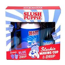 Slush Puppie Making Cup and Blue Raspberry Syrup MYO Frozen Drink Gift Set