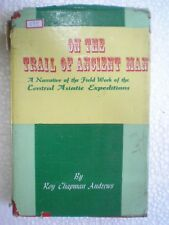 ON THE TRAIL OF ANCIENT MAN -ASIATIC EXPEDITION RARE BOOK INDIA PLATES PICS 1998