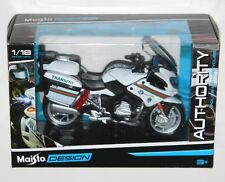 Maisto - 'Brigada de Transito' BMW R 1200 RT - Police Motorbike Model Scale 1:18