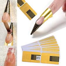 GUT 100X Schablonen für UV-Gel und Acryl Kunstnägel Nagelmodellage Verlängerung