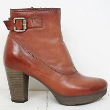 Neuwertig MJUS 💕 Stiefeletten Gr. 36 Leder Damen Ankle Boots Shoes