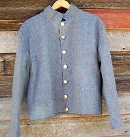 civil war confederate reenactor shell jacket  42