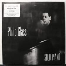 PHILIP GLASS 'Solo Piano' Audiophile 180g Vinyl LP NEW/SEALED