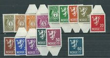 NORWAY 1937 SET STAMPS ARE MNH**