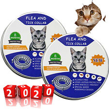 2 Pack Flea & Tick Collar for Cat All Weight 8 Month Protection Free Shipping