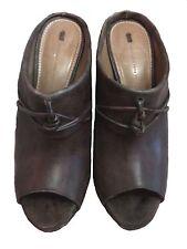 Anthropologie Schuler and Sons Philadelphia 4.5 inch Heel Wedge Sandals Size 9 B