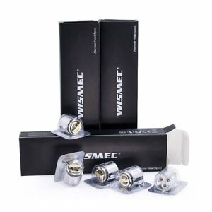 Wismec Gen3/Gnome Coils WM1/ WM2/ WM3/ WV01/ WS04 MTL Pack Of 5 TPD Compliant