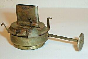 """Vintage Kaadan Kerosene Oil Lamp Burner (1-3/16"""""""" Threaded Fitter) Old Parts (T)"""