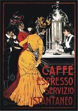 "TARGA VINTAGE ""1900 CAFFE' ESPRESSO"" Pubblicità,Coffee Advertising, Poster Plate"