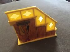 Vintage Fisher Price Little People Yellow Staircase
