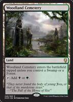 [1x] Woodland Cemetery [x1] Dominaria Near Mint, English -BFG- MTG Magic