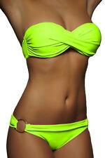 Traum Push Up Damen Bikini Pushup Badeanzug Set Push-Up Gr. XS S M L 32-40 NEU !