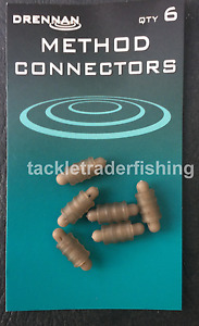 DRENNAN FISHING SPARE METHOD FEEDER CONNECTORS