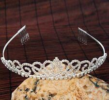 Gorgeous Wedding Bridal Prom Party Hair Accessories Womens Tiara Crown Headband
