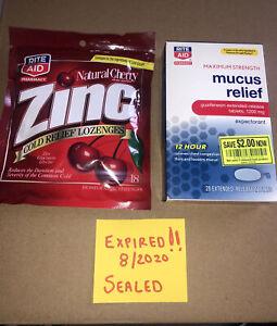 Rite Aid Maximum Strength Mucus Relief 1200mg Expectorant 28 Tablets +bonus See